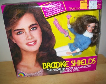 MIB 1982 Brooke Shields Doll - The World's Most Glamorous Teenage Doll