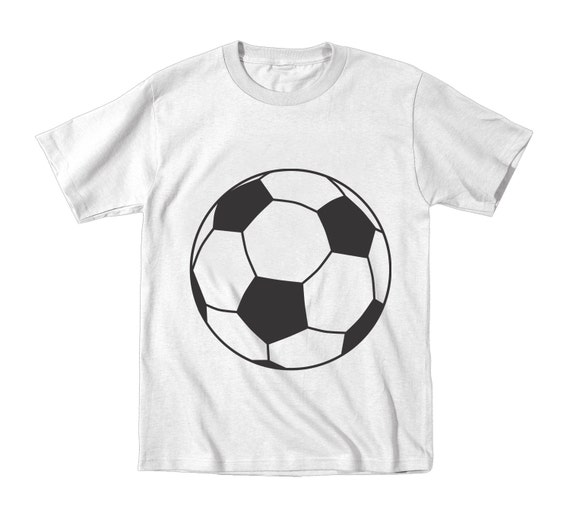 Little soccer ball belly kids t shirt funny sports by for Soccer girl problems t shirts