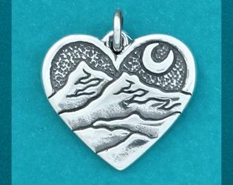 Mountain Heart Charm