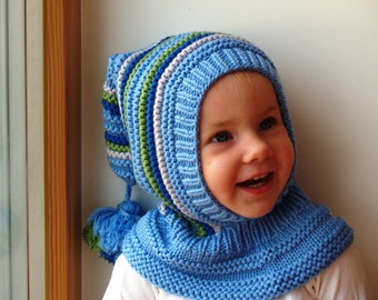 Knitting Pattern Of Baby Balaclava : Popular items for knit balaclava on Etsy