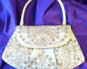 Vintage Original Zita Rio Embroidered Handbag