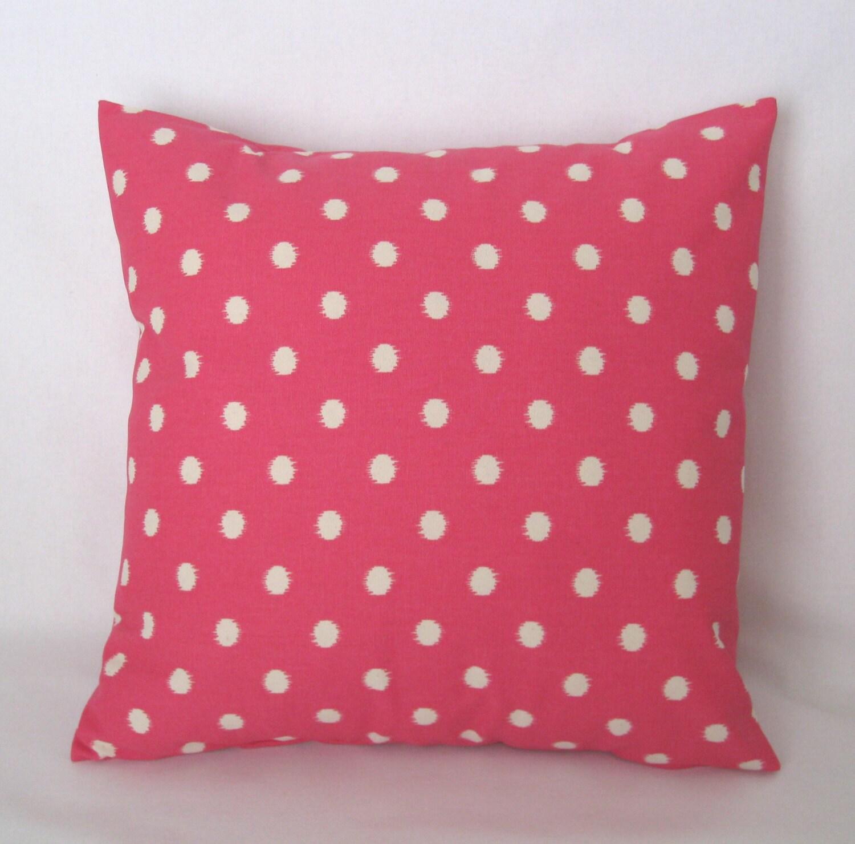 Ikat Throw Pillow Covers : Pink Ikat Pillow Cover 20x20 Throw Pillow