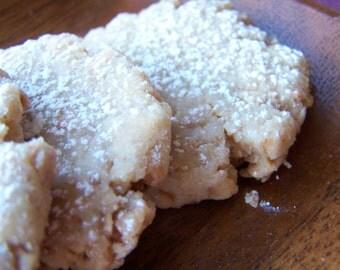 Sweet Coconut & Ginger Cookies - 1/2 dz