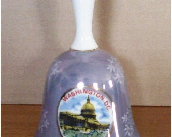 Vintage Porcelain Bell Washington DC