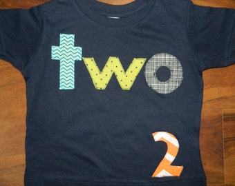 Toddler 2nd Birthday Shirt