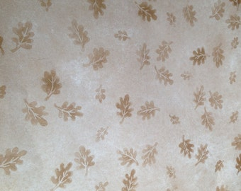 12x12 Provo Craft Brown Leaves Paper