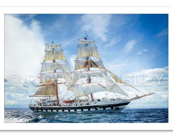Sailing Ship Stavros S Niarchos