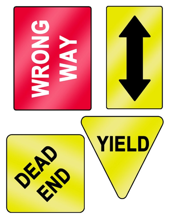 Influential image with regard to printable street signs