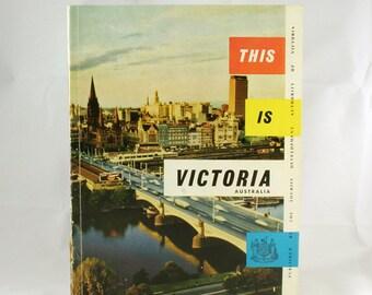 Vintage Victoria Geographic Booklet