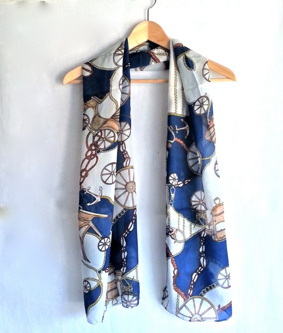 scarf available in 2 different colors summer scarf blue
