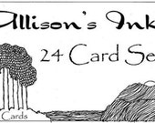 Set of 24 cards