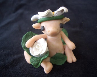 OOK polymer clay Fae Creature sculpture
