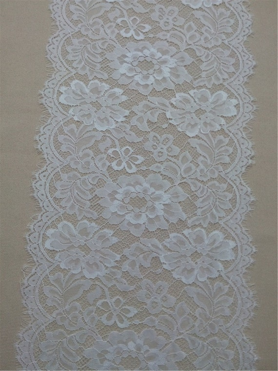 Wedding table runner 10 ft table runner 12 wide lace for 10 foot table runner