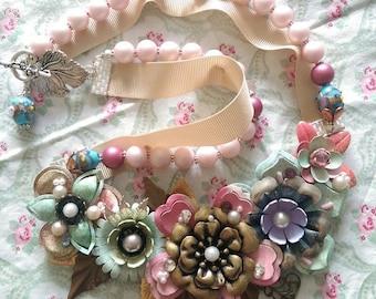 Summer Romance Necklace by Lillyangel Bowtique