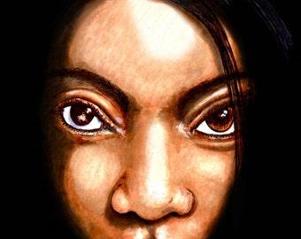 Ebony Eyes