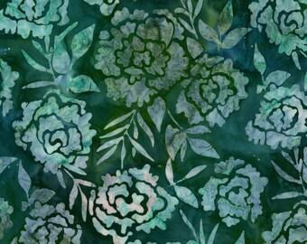 Robert Kaufman Meadow Floral Batik Fabric by the Yard AMD-13182-270