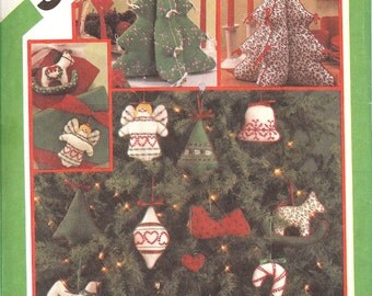 Simplicity 6616 UNCUT Transfer for christmas ornaments and centerpiece ID21