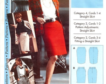 Pattern Sewing Step By Step  Straight Skirt  ID241