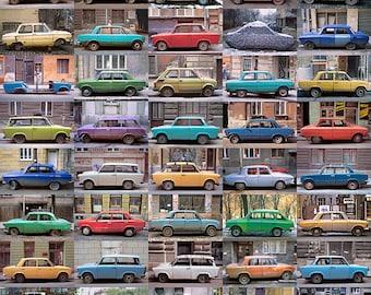 EASTERN EUROPEAN CARS Fine Art Travel Photography Print 11 x 14 Inches
