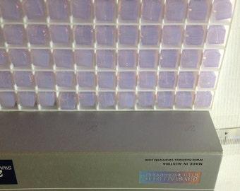 12 - 5601 - 6mm Genuine Swarovski Crystal Bead Cubes - Violet Opal