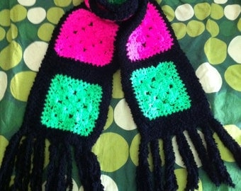 Fluo scarf - very long and very warm / Sciarpa fluo - lunghissima e caldissima