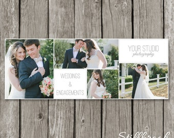 Photography Facebook Timeline Template - Wedding Cover Photo for Photographers - Facebook Banner - Blog Header - TC04