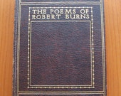 the poems of  robert burns, edited by J Logie Robertson