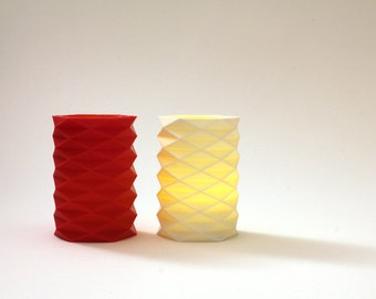 FORMA - 3D Printed Candle Holder