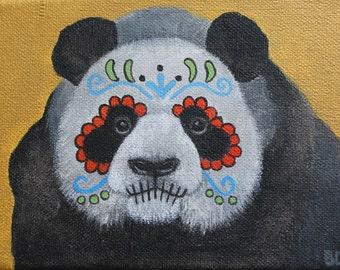 Día de Muertos - acrylic painting on canvas