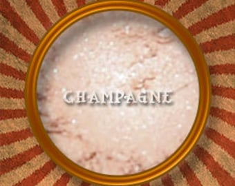 Champagne Mineral Eye Shadow & Highlighter-Handmade in the USA