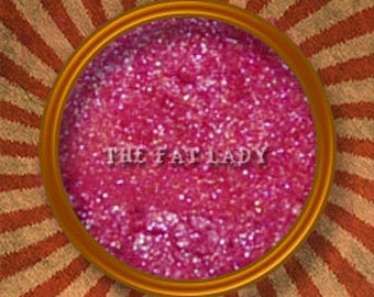 The Fat Lady pink mineral eye shadow-Handmade in the USA