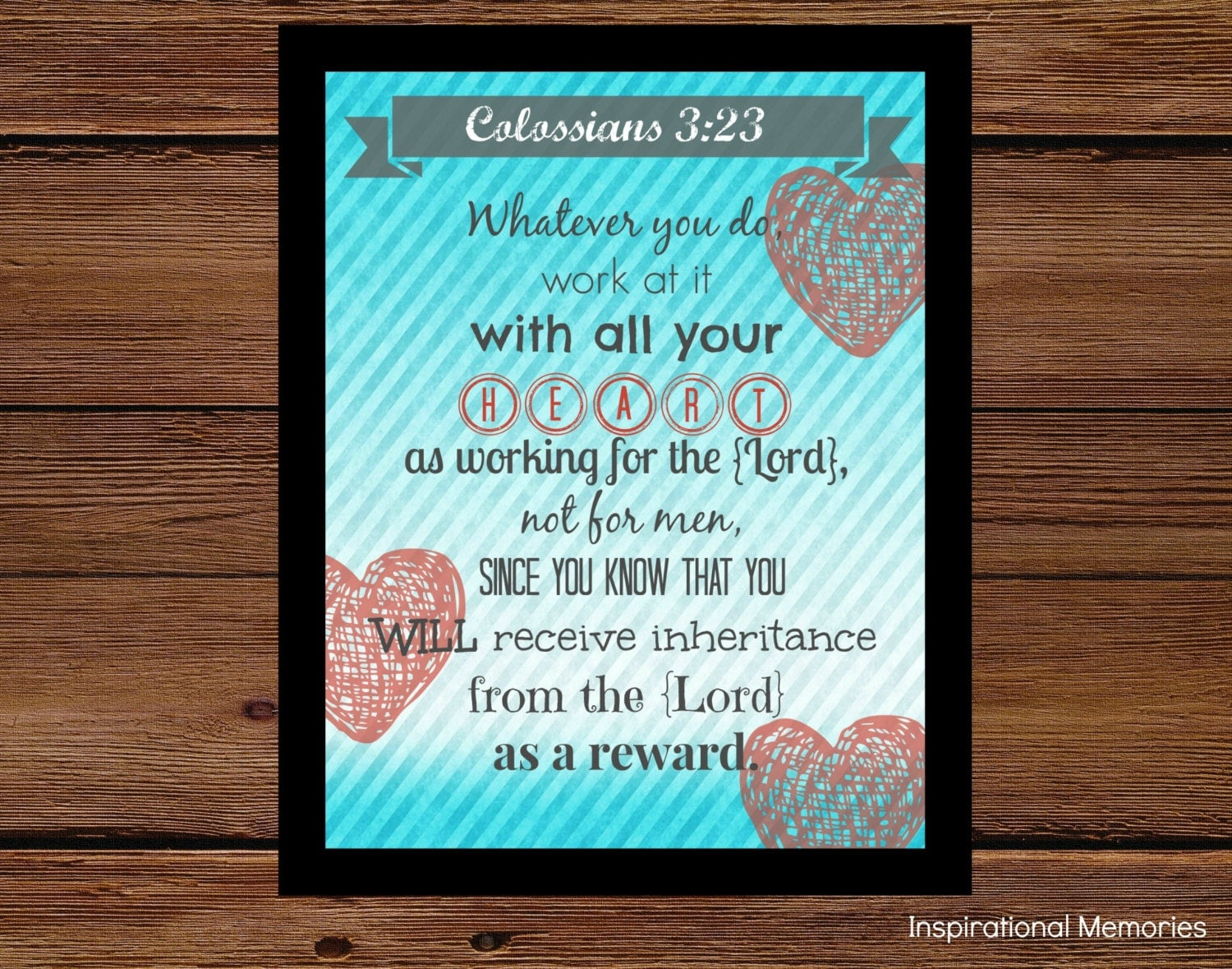 colossians 3 23 coloring page - framed bible verse colossians 3 23 24 whatever you do