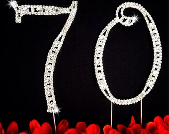 70th birthday wedding anniversary number cake topper large for 70th birthday cake decoration ideas