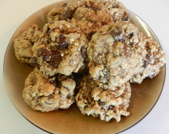 Dozen Oatmeal Chocolate Chip Lactation Cookies for Nursing Mothers