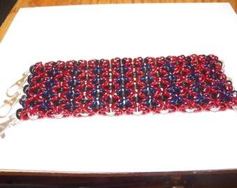 Sheet Byzantine Chainmaille Bracer
