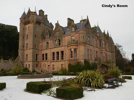 Items similar to belfast castle northern ireland for Home decor northern ireland