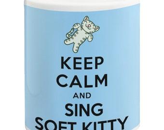 Keep Calm And Sing Soft Kitty, The Big Bang Theory Ceramic 11oz Mug