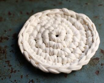cream-colored cotton pad
