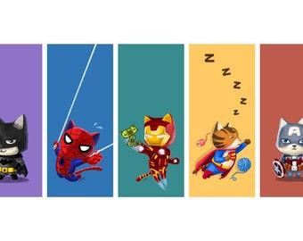 Superhero Cats Series Poster