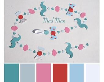 paper garland: Madman