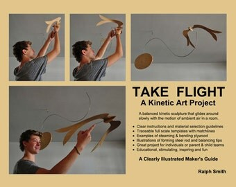 Build This Kinetic Sculpture: TAKE FLIGHT!
