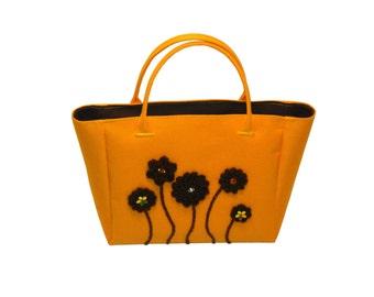 Gift for toddler, Little Girls Bag, Girls Handbag, Toddler Purse, Toddler Handbag, Toddler Bag, Yellow purse, Brown purse, gift for girl