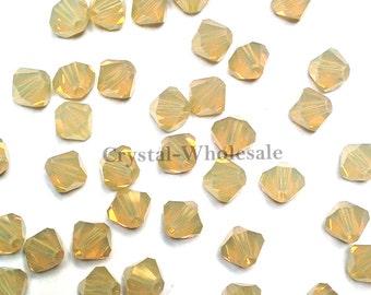 Sand Opal (287) Swarovski Elements 5328 / 5301 3mm Crystal Xilion Bicone Beads ** FREE Shipping