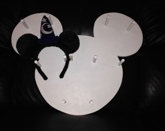Disney inspired display for all you great ears!!!! Each piece can hold up to 15 sets of ears!!!!
