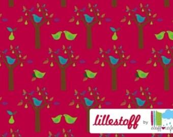 """LILLESTOFF """"Pear Tree"""" GOTS Organic Knit Fabric - 1/2 yard"""