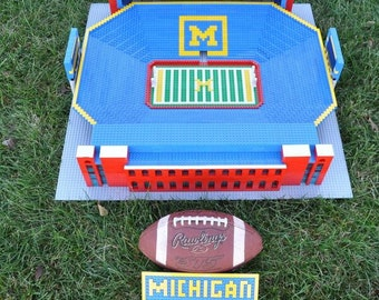 Michigan Stadium, Brick model