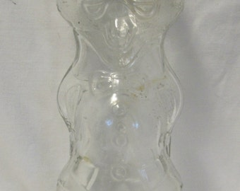 U-Bet Syrup Bottle 12oz. - Clear Glass - 1950's