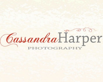 Premade logo or Blog Header for small businesses, blogs or photographers