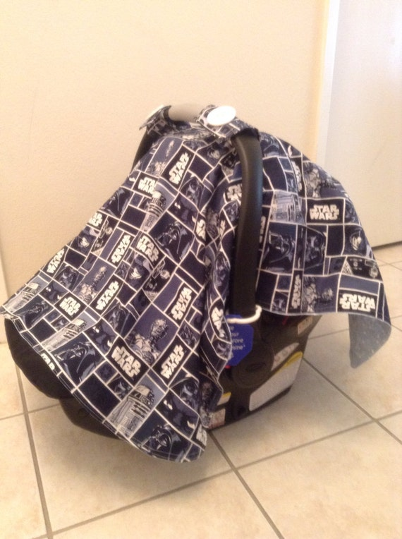 custom star wars inspired car seat canopy. Black Bedroom Furniture Sets. Home Design Ideas
