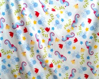 Ocean friends fleece blanket